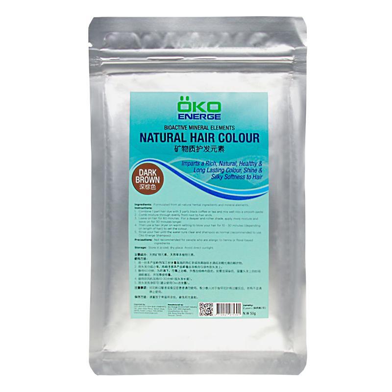 Natural Hair Colour (Dark Brown) (50g)